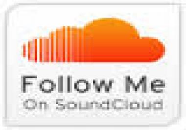 Need 500 Soundcloud follow
