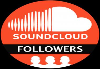 2000+ High Quality Active SoundCloud Followers