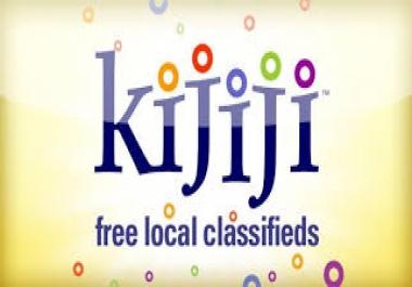 Post to Kijiji ads daily