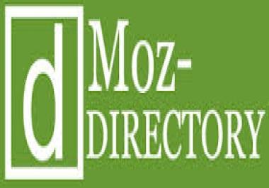 3 websites added to DMOZ