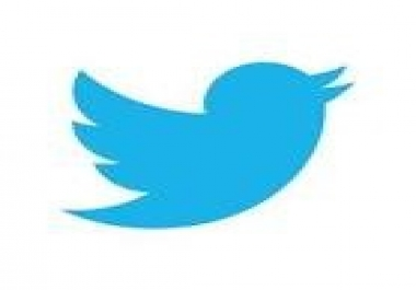 I need 400 twitter followers on 2 account.