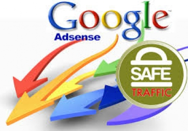 Real Human & AdSense Safe Traffic