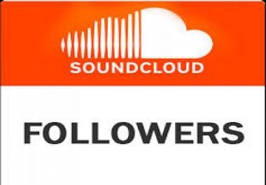 1700+HQ sound cloud followers only