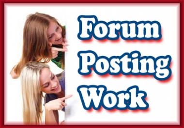 buy total 200 forum posts