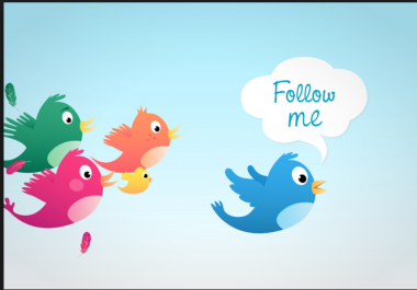 Followers for twitter 30K 50K