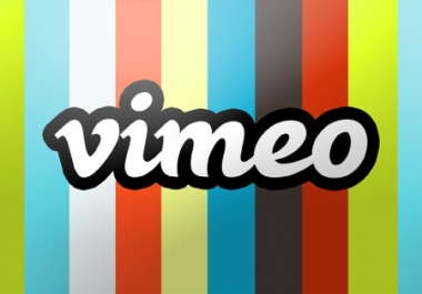 need 110 vimeo like,  followers