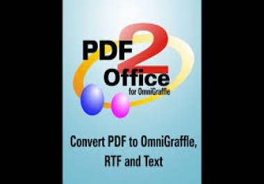 Convert PDF format to Graffle format