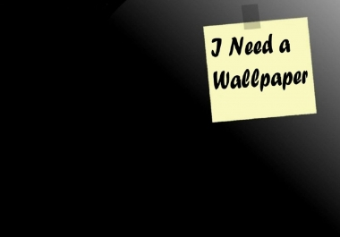 I want a creative wallpaper & icon for my android application