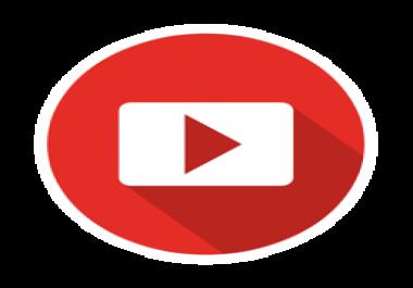 Need 50 000 youtube views non drop