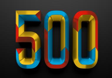 500 YouTube Views Real