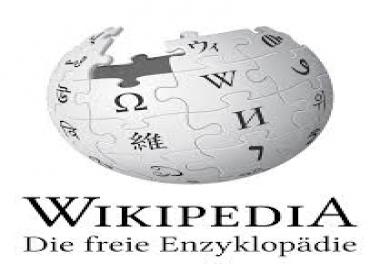 Make a wikipedia artist page