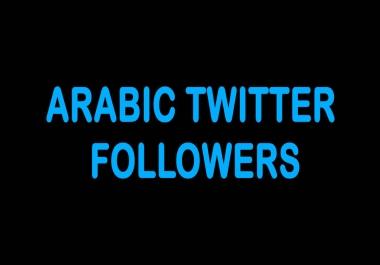 1000 Arabic TW Followers
