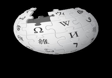 Create Wikipedia page
