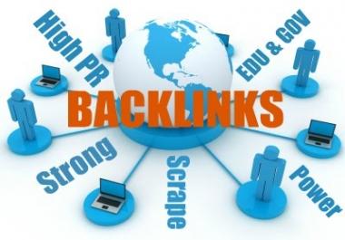 +1000 Edu Gov PR9 Backlinks
