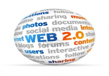 Need 20 Web 2.0 Sites Created