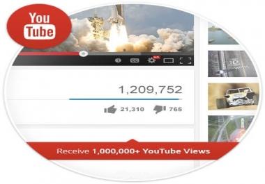 1 million youtube views non drop