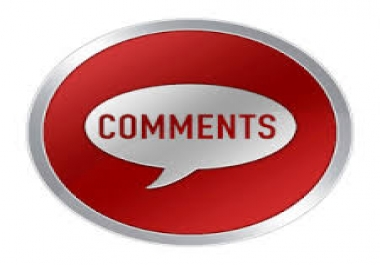 30 approved blog comment need