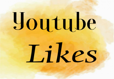 1050+Youtube likes for Amount