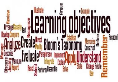 Learning Objectives Generator for Wordpress