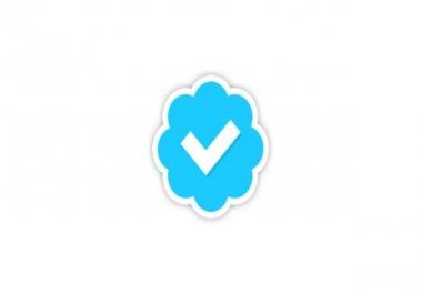 Verified Twitter Blue Check Mark
