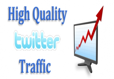 Twitter Real traffic / visitors