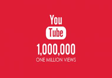 I need million youtube views