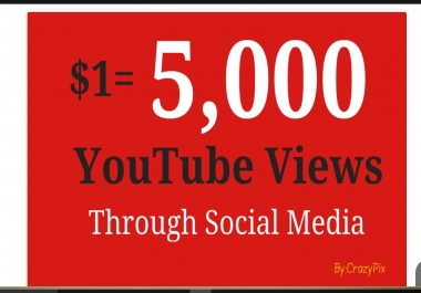 2000 YouTube views To Buy