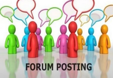 1 or 2 forum post every day for 100 days