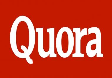 Need 20 Quora answers