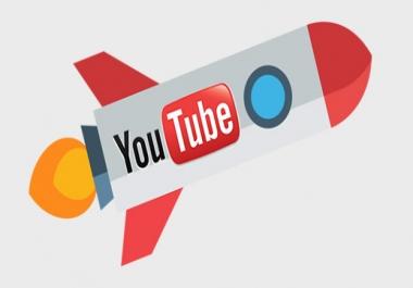 100 000 Non Drop YouTube views