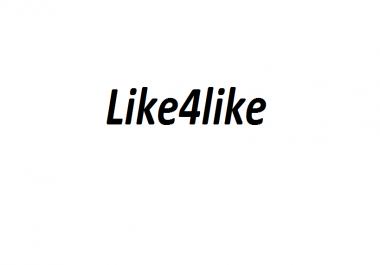 8000 Like4like points urgent need