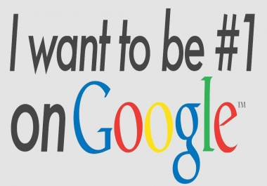 Rank my website at first page of google by 10 keywords
