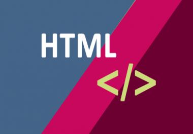 I want a html / java script code