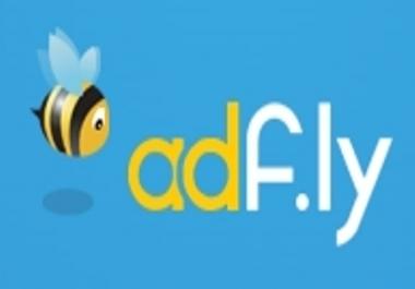Need 2000K Adfly link clicks/vistors