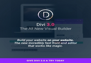 Want to buy Divi 3.0