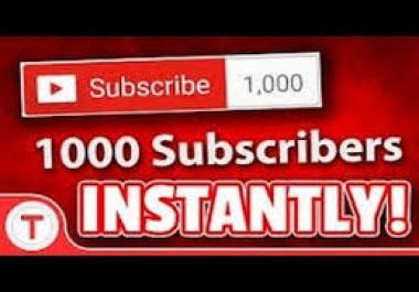 500 Youtube Subescribers