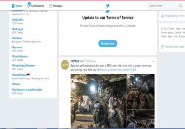 urgent 5k Twitter foIIowers need