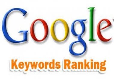 ranking New Zealand for 7 keywords