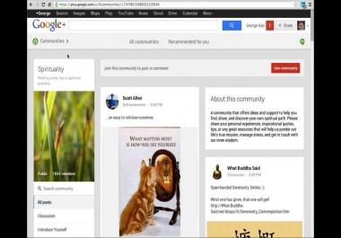 100 Google+ Community posts
