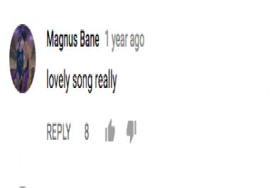 UTube Comment Thumbs Up