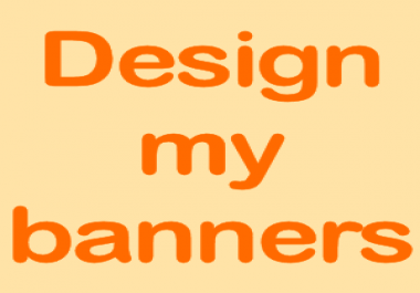 design a set of ads banners similar content but 5 different formats