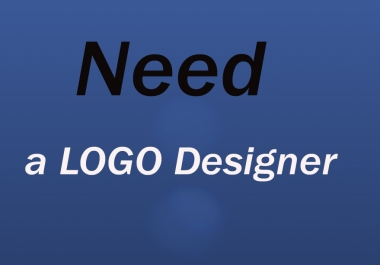 Need a logo deginer who can design logos