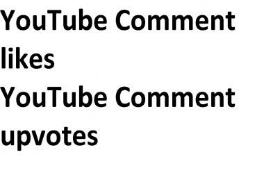 YouTube upvotes on comment / YouTube liking comment
