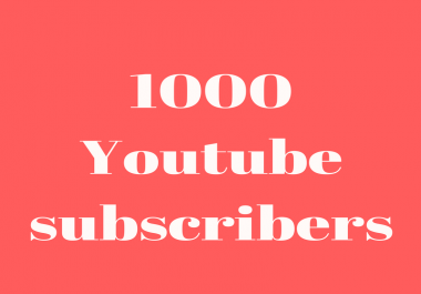 Drip Feed 1000 Youtube subs