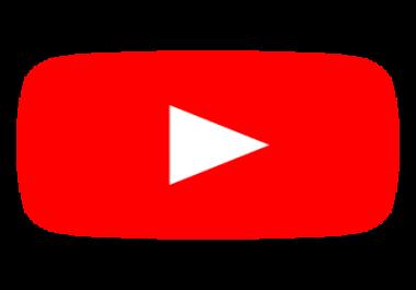 Need 50k youtube subscriber