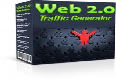 Web Traffic generator. 3 - 5 USD
