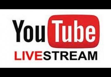 Y0utube Live Stream Viewer BOT