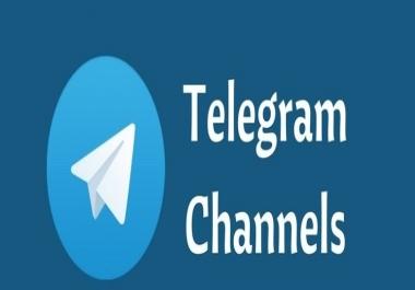 Need 1000 tele-gram channel member