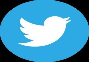 11K Twitter F0llowers for 10