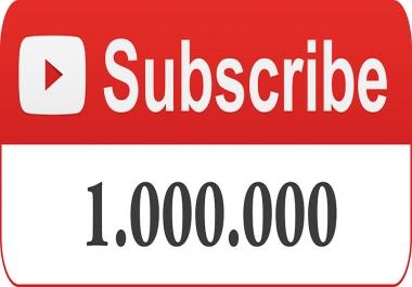 1 Million Subscribers
